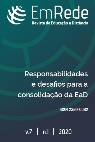 Capa da Revista EmRede v. 7,  n. 1, 2020