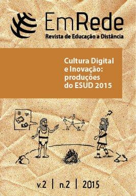 Capa do volume 2 número 2 da Revista de Educação a Distância - EmRede