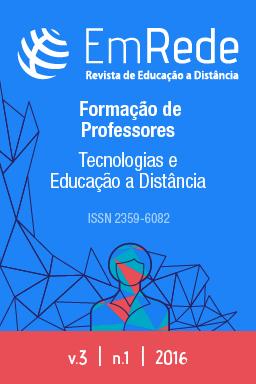 Capa com o titulo Formação de professores: tecnologias e educação a distância